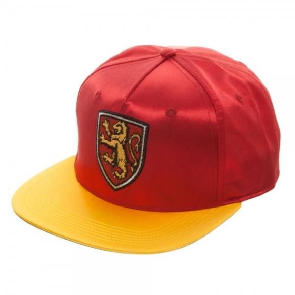 72b8d6d38fa26 House Gryffindor - Harry Potter Satin Snapback Hat Boutique